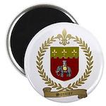 """SONNIER Family Crest 2.25"""" Magnet (100 pack)"""