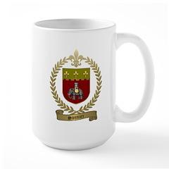 SONNIER Family Crest Large Mug