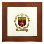 SONNIER Family Crest Framed Tile