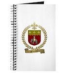 SONNIER Family Crest Journal