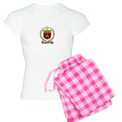 SONNIER Family Crest Pajamas