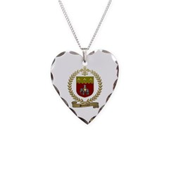 SONNIER Family Crest Necklace