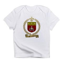 SONNIER Family Crest Infant T-Shirt