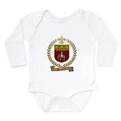 SONNIER Family Crest Long Sleeve Infant Bodysuit