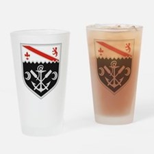 Cute Army engineers Drinking Glass