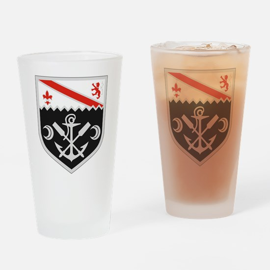 Cute First army Drinking Glass