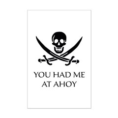 Pirate Ahoy Posters