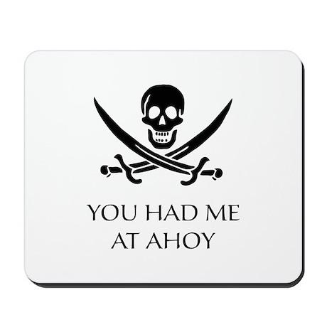 Pirate Ahoy Mousepad