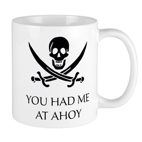 Pirate Ahoy Mug