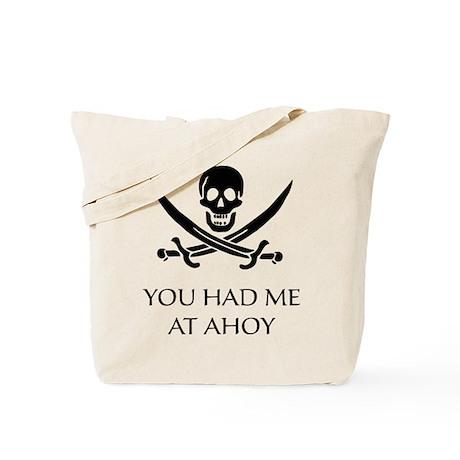 Pirate Ahoy Tote Bag