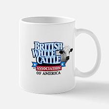 British White Cattle Association Logo Mugs