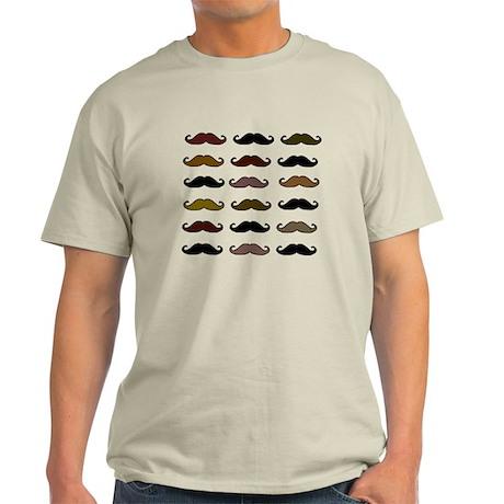 VINTAGE MOUSTACHE Light T-Shirt