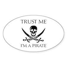 Trust Me I'm a Pirate Decal
