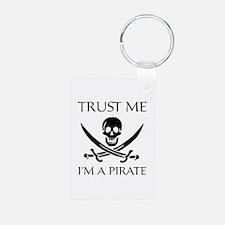 Trust Me I'm a Pirate Keychains