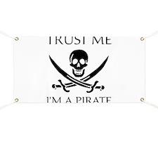 Trust Me I'm a Pirate Banner