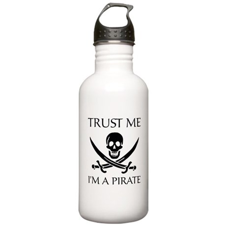 Trust Me I'm a Pirate Stainless Water Bottle 1.0L