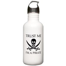 Trust Me I'm a Pirate Water Bottle