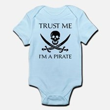 Trust Me I'm a Pirate Infant Bodysuit