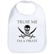 Trust Me I'm a Pirate Bib