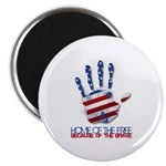 "Home of the Free 2.25"" Magnet (10 pack)"