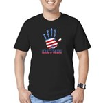 Home of the Free Men's Fitted T-Shirt (dark)