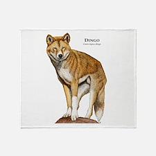 Dingo Throw Blanket