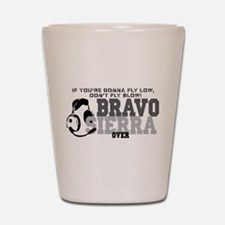 Bravo Sierra Avaition Humor Shot Glass