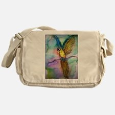 Blue macaw, Messenger Bag