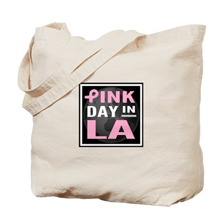 Pink Day in LA Tote Bag