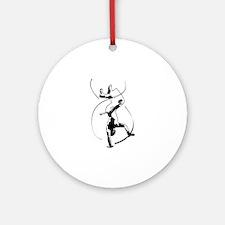 Capoeira Ornament (Round)