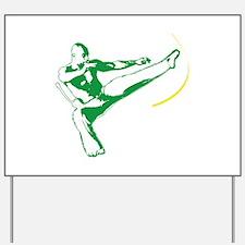 Capoeira Yard Sign