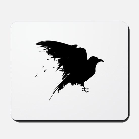 Grunge Bird Mousepad