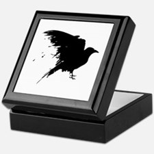 Grunge Bird Keepsake Box