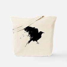 Grunge Bird Tote Bag