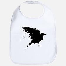 Grunge Bird Bib