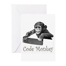 CODE MONKEY - Greeting Cards (Pk of 10)