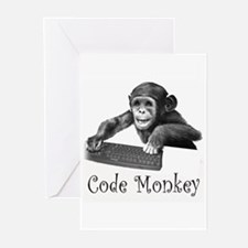 CODE MONKEY - Greeting Cards (Pk of 10)