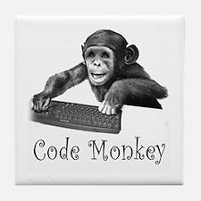 CODE MONKEY - Tile Coaster