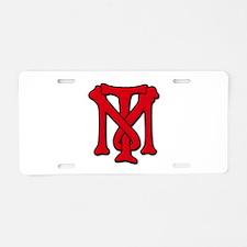 Tony Montoya Scarface TM Aluminum License Plate