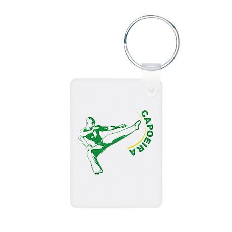 Capoeira Aluminum Photo Keychain