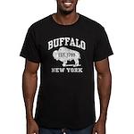 Buffalo New York Men's Fitted T-Shirt (dark)