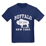 Buffalo New York Kids Dark T-Shirt