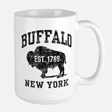 Buffalo New York Large Mug