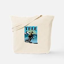 Cute Winter sports Tote Bag