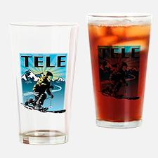 Cute Telemark Drinking Glass