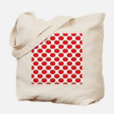 Red Tomato Pattern Tote Bag