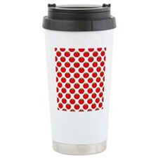 Red Tomato Pattern Travel Mug