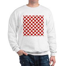 Red Tomato Pattern Sweatshirt