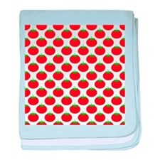 Red Tomato Pattern baby blanket