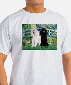 Bridge & Poodle Pair T-Shirt